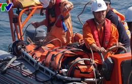 Cứu thuyền viên trên tàu cá Đà Nẵng bị bệnh nguy kịch