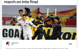 Báo chí quốc tế sục sôi vì thắng lợi lịch sử của ĐT U23 Việt Nam