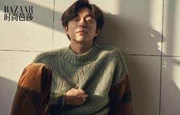 """""""Yêu tinh"""" Gong Yoo cuốn hút khó cưỡng trên tạp chí"""