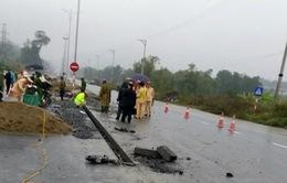 Tai nạn giao thông nghiêm trọng tại Hà Giang, 5 công nhân làm đường thiệt mạng