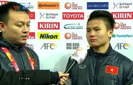 Người hùng Quang Hải chia sẻ cảm xúc sau trận thắng nghẹt thở trước U23 Qatar