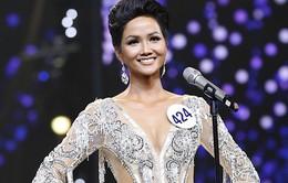 Cô gái Ê Đê H' Hen Niê đăng quang Hoa hậu Hoàn vũ Việt Nam 2017