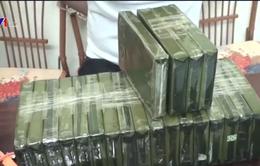 Thu giữ 21 bánh heroin tại Điện Biên