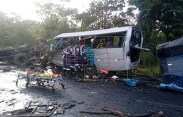Tai nạn giao thông nghiêm trọng tại Brazil, hàng chục người thương vong