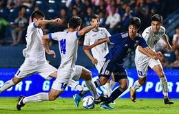 VIDEO: U23 Uzbekistan gây sốc trước U23 Nhật Bản ngay trong hiệp một