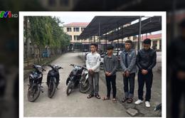 Hà Tĩnh bắt giữ học sinh trộm cắp xe máy