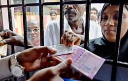 Người dân Ấn Độ vẫn trung thành với thanh toán tiền mặt