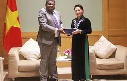 Chủ tịch Quốc hội tiếp Tổng thư ký IPU