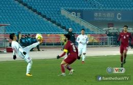 VIDEO: Những pha xử lý đậm chất kỹ thuật của U23 Việt Nam trước U23 Qatar