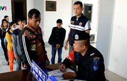 Thái Lan bắt giữ hơn 30 lao động trái phép người Campuchia