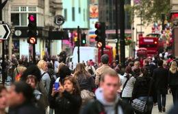 Anh: Chi tiêu tiêu dùng lần đầu sụt giảm trong 5 năm