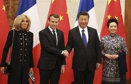 Tổng thống Pháp thăm thành phố Tây An (Trung Quốc)