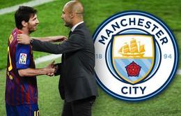 Barcelona có thể mất trắng Messi vào tay Man City