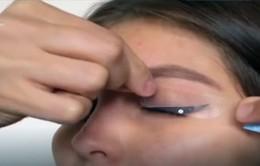 Miếng dán kẻ mắt siêu nhanh