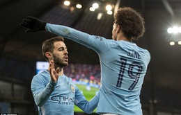 Kết quả bóng đá sáng 07/01: Man City khẳng định sức mạnh, Chelsea bị Norwich cầm hòa