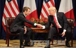 Tổng thống Mỹ, Pháp thảo luận vấn đề Triều Tiên