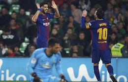 15 đội ở La Liga ghi bàn không bằng song sát Messi - Suarez