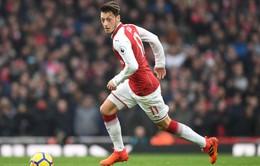 Ozil đứng thứ 3 châu Âu, xếp sau cựu sao West Ham về khả năng kiến thiết