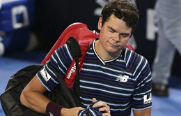 Giải quần vợt Brisbane International: Raonic thua sốc, Kyrgios thắng nghẹt thở