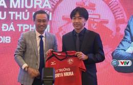 HLV Miura ra mắt CLB TP Hồ Chí Minh