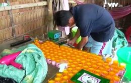 Bắt quả tang cơ sở sản xuất mỹ phẩm giả ở Vĩnh Long