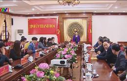 Chủ tịch Quốc hội: Thanh Hóa cần rút kinh nghiệm về công tác cán bộ