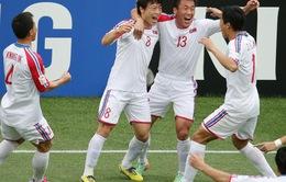 TRỰC TIẾP BÓNG ĐÁ U23 châu Á 2018, U23 Nhật Bản 0-0 U23 CHDCND Triều Tiên: Hiệp 1