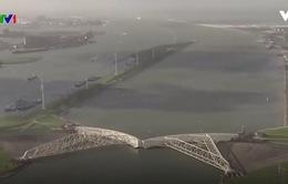 Mực nước biển Hà Lan dâng cao kỷ lục