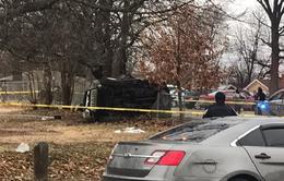 Mỹ: Ô tô mất lái đâm vào khu vui chơi trẻ em