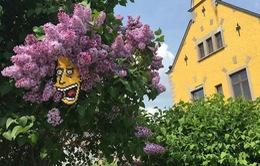 Vui nhộn với nghệ thuật đường phố pixel tại Thụy Điển