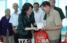 Phó Chủ tịch nước Đặng Thị Ngọc Thịnh thăm gia đình chính sách tại Bình Phước