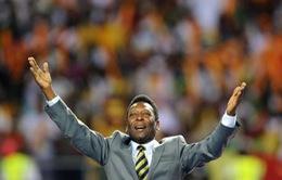 """""""Vua bóng đá"""" Pele bị đột quỵ"""