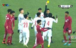 VIDEO: Xem lại tình huống trọng tài Taqi thổi phạt đền U23 Việt Nam