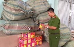 Bắt gần 300kg pháo lậu ở Đăk Lăk