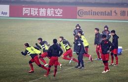 VIDEO: U23 Việt Nam vượt khó trong buổi tập cuối cùng trước trận gặp U23 Syria