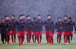 U23 Việt Nam trở lại sân tập, quyết dốc sức đá trận tứ kết với U23 Iraq