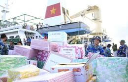 Khánh Hòa tiếp nhận quà Tết cho quân và dân các đảo ở Trường Sa