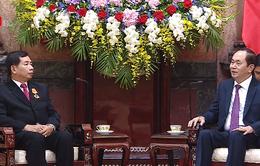 Thúc đẩy quan hệ hợp tác giữa Tòa án Nhân dân Tối cao Lào và Việt Nam