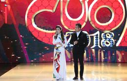 Mỹ Dung - Trương Thế Vinh hóa cặp đôi MC ăn ý trong Gala Cười 2018