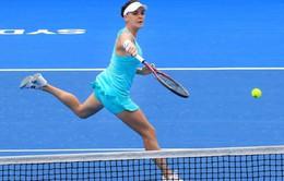 Giải quần vợt Sydney International: Muguruza, Radwanska thẳng tiến