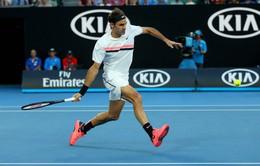 Australia mở rộng 2018: Federer thẳng tiến vào vòng 3