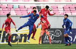 VCK U23 châu Á 2018: U23 Thái Lan thua sát nút U23 CHDCND Triều Tiên