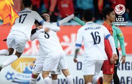 VCK U23 châu Á 2018, U23 Uzbekistan 1-0 U23 Trung Quốc: Chủ nhà gục ngã