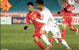 VCK U23 châu Á 2018, U23 Oman 0-1 U23 Qatar: Chiến thắng nhẹ nhàng