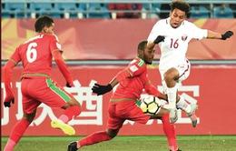 VIDEO Tổng hợp trận đấu: U23 Oman 0-1 U23 Qatar