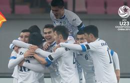 Thắng thuyết phục, U23 Uzbekistan biến U23 Nhật Bản trở thành cựu vô địch