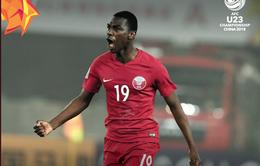 U23 Qatar giành chiến thắng kịch tích trước U23 Palestine