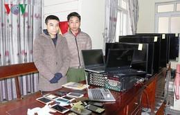 """Hà Tĩnh: 2 siêu trộm bị tóm sau """"phi vụ"""" thứ 29"""