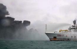 Nguy cơ thảm họa môi trường sau tai nạn tàu chở dầu ở biển Hoa Đông