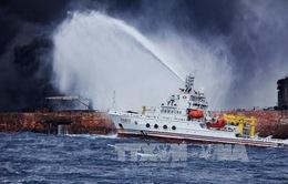 Ngừng chiến dịch tìm kiếm nạn nhân tàu chở dầu Iran gặp nạn